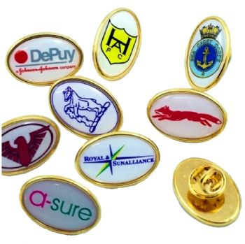 Custom Design Oval Badges